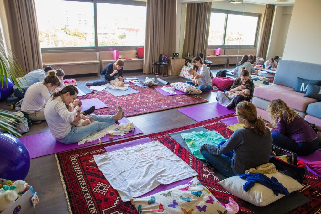Βρεφικό Μασάζ IAIM στο midwives