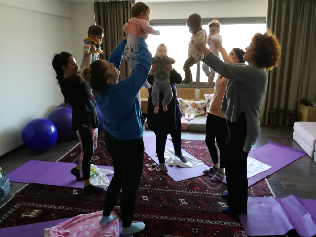Baby Yoga Midwives Thessaloniki