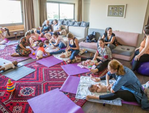 Βρεφικό Mασάζ Midwives Thessaloniki